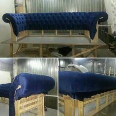 Furniture Reupholstery, Reupholster Furniture, Upholstered Furniture, Custom Furniture, Furniture Making, Furniture Makeover, Furniture Design, Diy Couch, Sofa Frame