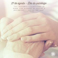 No dia 27 de agosto é comemorado no Brasil o Dia do Psicólogo. Nesta mesma data…