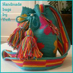 Mini Mochila bag door Handmade bags by YvA
