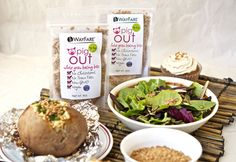 Pig Out Whole Grain Bacony Bits 3 Pack by WayFare - Vegan Cuts