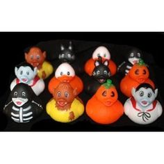 Halloween Rubber Ducks - Set of 12 Duckies/Ducky/Duckie RIN http://www.amazon.com/dp/B003ZZH316/ref=cm_sw_r_pi_dp_qAG7wb05QVYAY