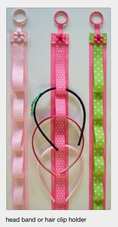 Gotta corral those headbands! 30 Fabulous DIY Organization Ideas for Girls