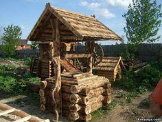 декоративные колодцы из дерева: 25 тыс изображений найдено в Яндекс.Картинках