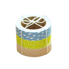 Rainyday fabric tapes for gift wrapping. Gift wrapping ideas.