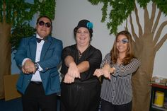 Halloween 2013: Andrew, Andrea and Bri do Gangnam Style