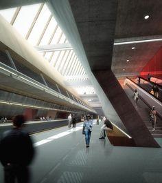 Metro Station 20 Proposal / ZNA