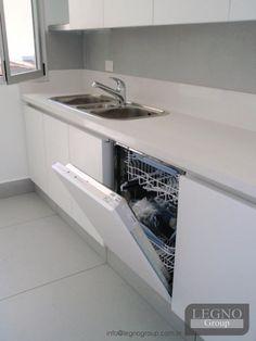 cocina modelo alum mdf laqueado blanco y gris satinado contactanos para que diseemos y fabriquemos tu proyecto o u
