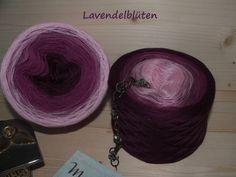 Lavendelblüten 100% Merino 5-fädig von MaggieP Traumwollen für Wollträume auf DaWanda.com
