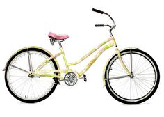 """Bike, Lilly Pulitzer, Perfect for cruising to the beach and it even has """"flip-flop-friendly pedals""""."""