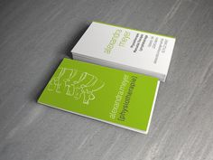 business card for a physical therapist