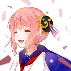 Kagura (Gin Tama) Anime Chibi, Kawaii Anime, Kawaii Cute, Manga Cute, Anime Dress, Okikagu, Beautiful Anime Girl, Anime Art Girl, Anime Girls