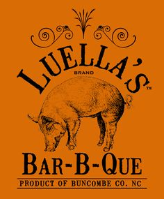 Luella's Bar-B-Que - Asheville, NC (fun, quirky place and awesome BBQ!) Fiends took me and a friend there for lunch: food is to die for. Scrumptious!