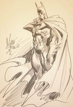 Batman convention sketch,