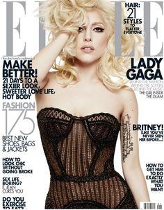 951b96958f8645 Lady Gaga Elle Magazine Covers, Elle Magazine, Ga Ga, Conceptual  Photography, People