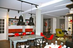 Copenhagen's Ibsens Hotel was refurbished by the Brochner family in 1997.