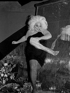 Divine at Trocadero Transfer, San Francisco 1978. Photo: Danny Nicoletta