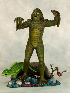 The Creature From The Black Lagoon (1960's-70's Aurora Model Kit)