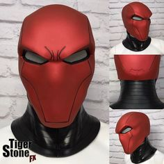 Were super excited to finally show you guys what weve been working on for quite some time. Our Red Hood helmet and neck piece - Here are some facts for those of you interested:   The helmet is cast in @SmoothOn Task 16 which is a firm but flexible urethane rubber. The neck is cast in VytaFlex rubber.  Red Hood should fit a 24 head comfortably. Well know if its any more than that once some 24 guys have one of these.  Originally we only planned to offer the deep metallic red version but…