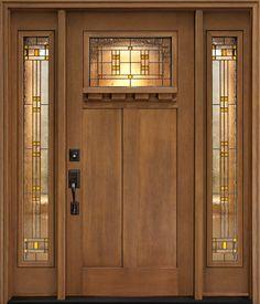 Craftsman  front door, by Clopay