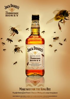 Jack Daniel's Tennessee Honey, it is brilliant when mixed with coke. It has quickly become one of my favorite tipples. Remember to drink responsibly. Jack Daniels Honey, Whisky Jack, Cigars And Whiskey, Bourbon Whiskey, Whiskey Bottle, Tennessee Honey, Tequila, Fruit Packaging, Absolut Vodka