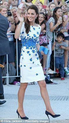 Fresh: The Duchess of Cambridge...