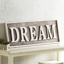 Superb Ivory Dream Wall Decor