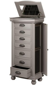 Ashworth Rubbed Black Jewelry Armoire Products Pinterest Black