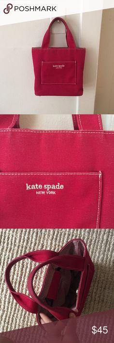 """Kate spade red handbag Kate spade red handbag, 10""""x 8.5""""x 4"""" kate spade Bags Mini Bags"""