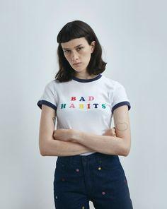 Lazy Oaf Bad Habits T-shirt