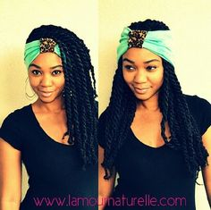 Marley twists // Headband