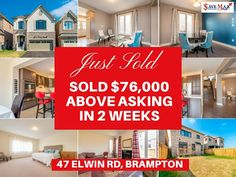 We're on a roll for #SellingHomes above-asking price!! Take a look at this Show Stopper Home #JustSold by Save Max exactly $76,000 above asking price. Save Max Real Estate - Google+