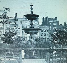 Fountain built for Queen Victoria's birthday 1895
