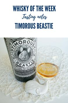 Review and tasting notes for the Timorous Beastie Blended Malt whisky Whisky Tasting, Malt Whisky, Beer Labels, Scotch, Shot Glass, Notes, Tableware, Collection, Single Malt Whisky