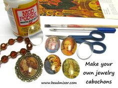 Creating Your Own Glass Cabochons