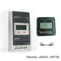 Compare Prices Tracer 4210A Epsloar 40A Mppt Solar Charge Controller 12V 24V Lcd Diaplay Epever #Mppt #Charge #Controller