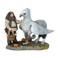 Harry Potter: A Proud Hippogriff, Indeed (Hagrid & Seidenschnabel) - Statue - Department 56 / Sideshow´- Merchandise & Fanartikel Online Shop Animated Halloween Props, Halloween Masks, Department 56, Hogwarts, Annabelle Doll, Hagrids Hut, Trick Or Treat Studios, Halloween Village, Pewter Grey