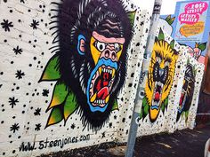 STEEN JONES - Rose Street, Fitzroy, Melbourne. Street Art. Rose Street, Street Art, Melbourne Street, Contemporary Art, Artwork, House, Murals, Art, Work Of Art