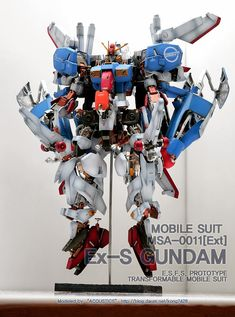 Custom Build: MG 1/100 Ex-S Gundam Open Hatch Presentation - Gundam Kits Collection News and Reviews