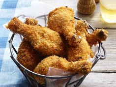 Crunchy Lemonade Drumsticks Recipe : Food Network Kitchen : Food Network - FoodNetwork.com