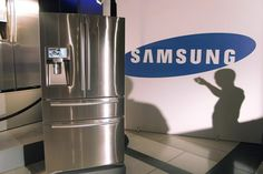 Samsung LCD Refrigerator with Apps