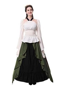 MEDIEVAL PIRATE VELVET BROWN CORSET UK 10-14 womens ladies fancy dress costume
