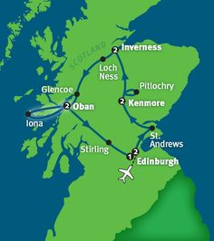 Rick Steves' Best of Scotland itinerary