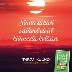 Lisää korsolaista viisautta Paula Norosen kirjassa Tarja Kulho - Räkkärimarketin kassa. Lue tai kuuntele nyt! #TarjaKulho Calm, Movie Posters, Instagram, Film Posters, Billboard