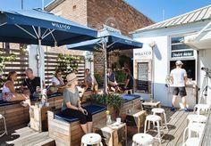 wicked outdoor space :: Will & Co. Cafe Opens in Bondi - Food & Drink - Broadsheet Sydney