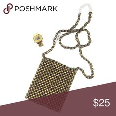 """Gorgeous Bead Purse 😍✨ 🔺Please DO NOT spam, promote other businesses, or leave negative comments on my listings. You will be blocked if you do so.                                                  Thank you 🔺                                  ❗AVAILABLE❗Looks & feels BRAND NEW • Same day/next day shipping (takes 2-3 days) • NO TRADING/HOLDS • strap is 21"""" long Bags Crossbody Bags"""