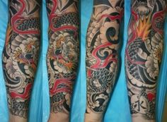 16 Best Japanese Dragon Forearm Tattoo Images Japanese Dragon