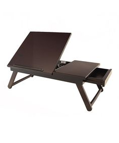 Look what I found on #zulily! Espresso Lap Desk #zulilyfinds