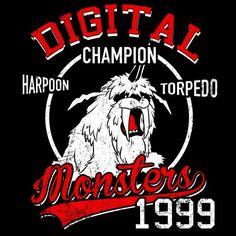 Harpoon Torpedo T-Shirt $12.99 Digimon tee at Pop Up Tee!