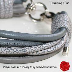 Mini Halsband 6-reihig