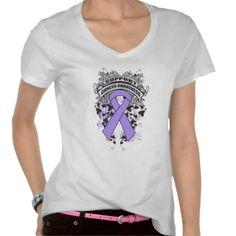 General Cancer - Cool Support Awareness Slogan T Shirt
